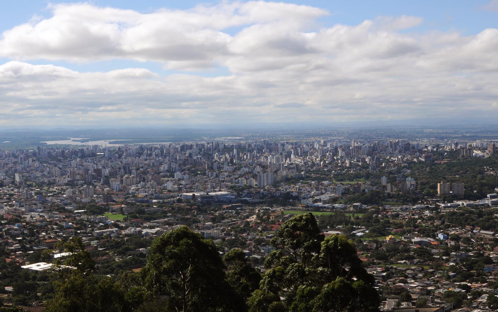 Armario Capsula Feminino ~ FOTOS cinco vistas de Porto Alegre no aniversário da