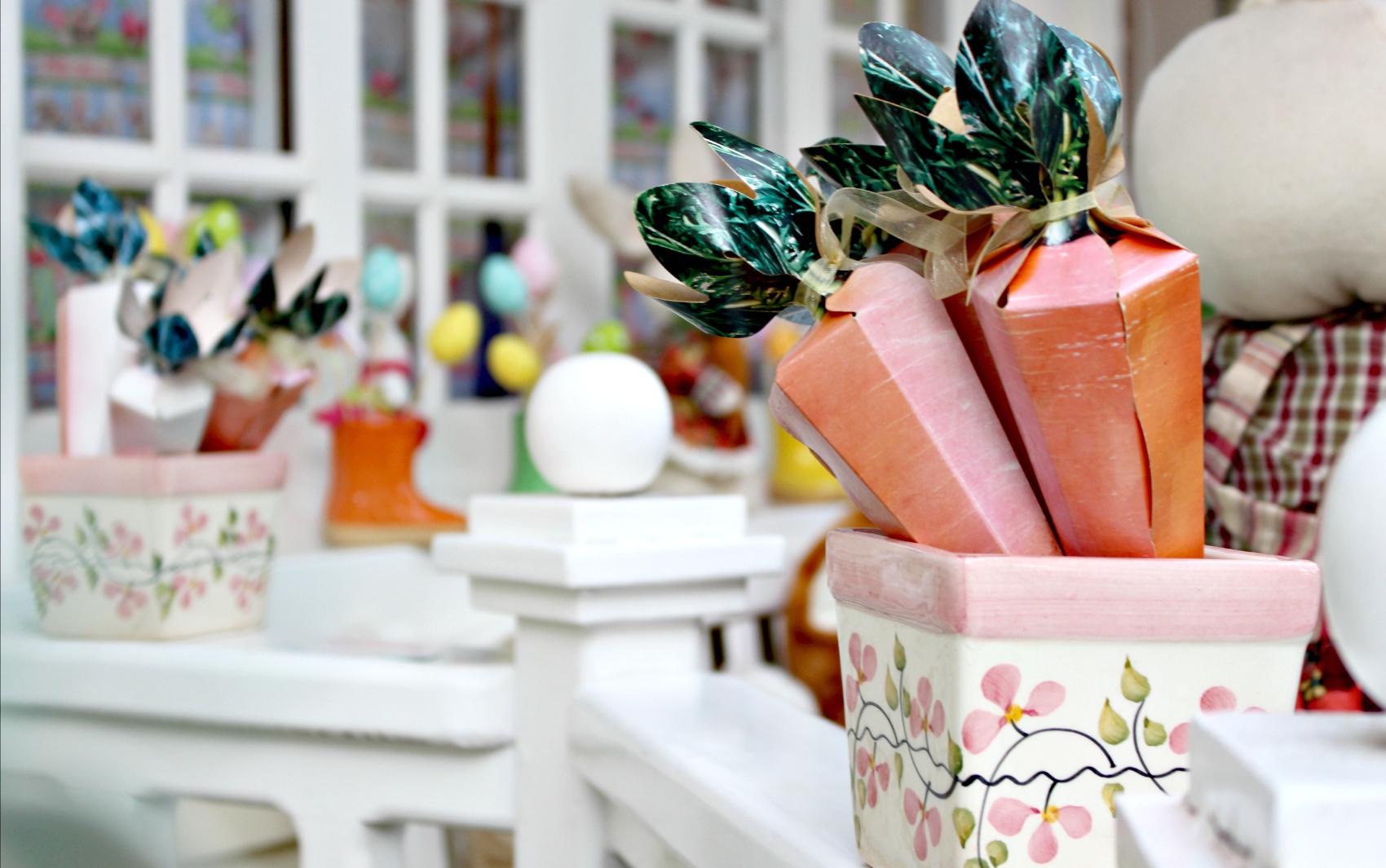 Veja as fotos da casa decorada em celebração à Páscoa em Campo Grande  fotos