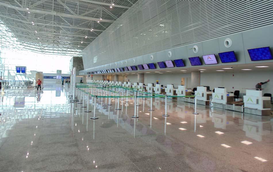 Novo terminal tem capacidade para atender 6,2 milhões de passageiros por ano