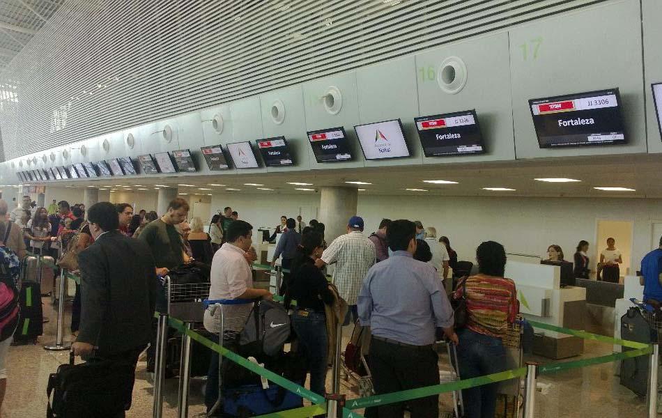 Novo aeroporto do RN começou a funcionar neste sábado (31)