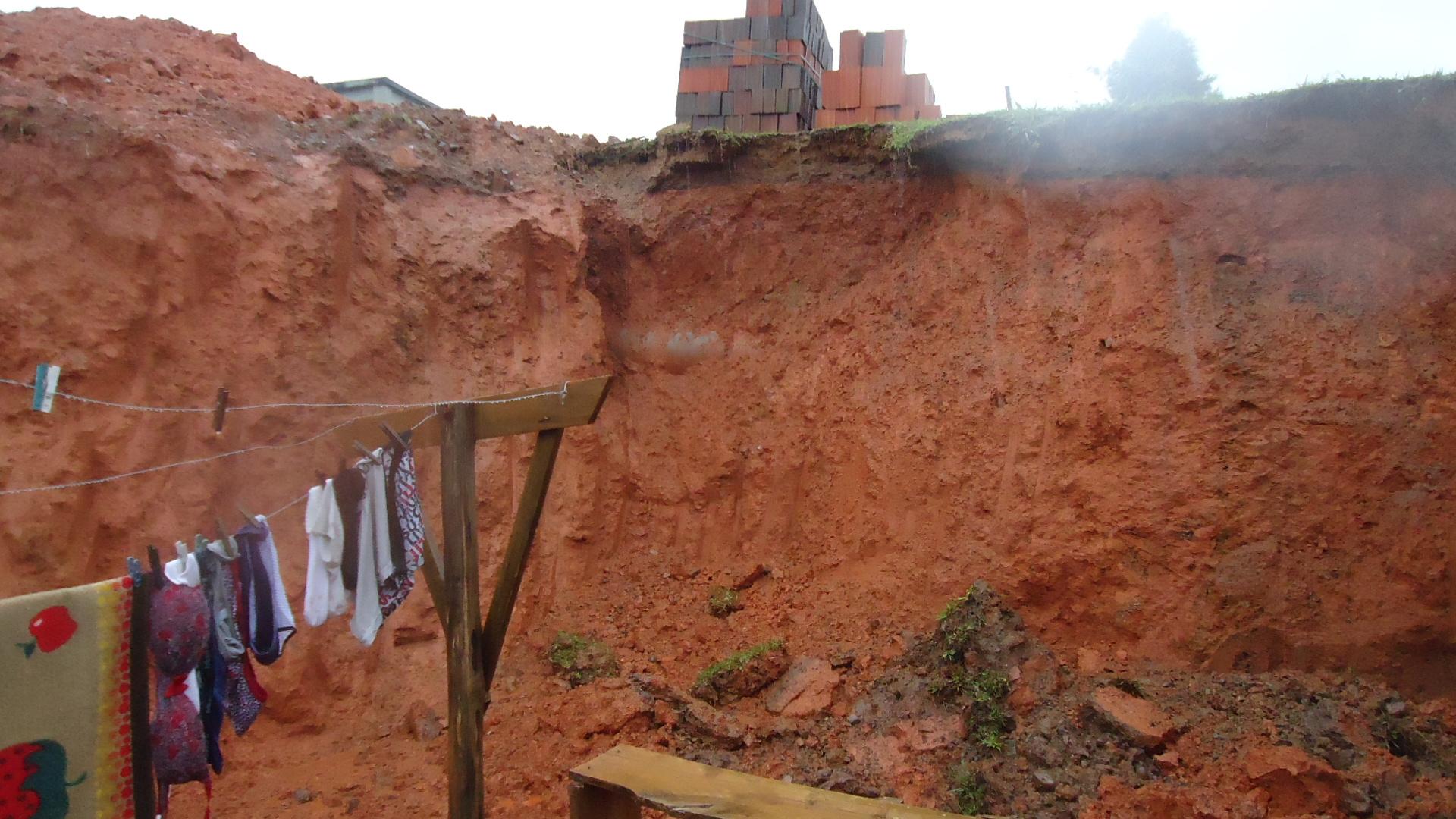 Segundo a Defesa Civil, Corupá é uma das cidades mais atingidas pela chuva