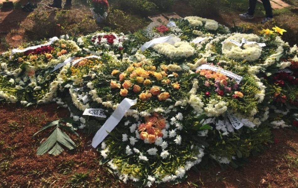 Enterro do ex-jogador Fernandão em Goiânia Goiás