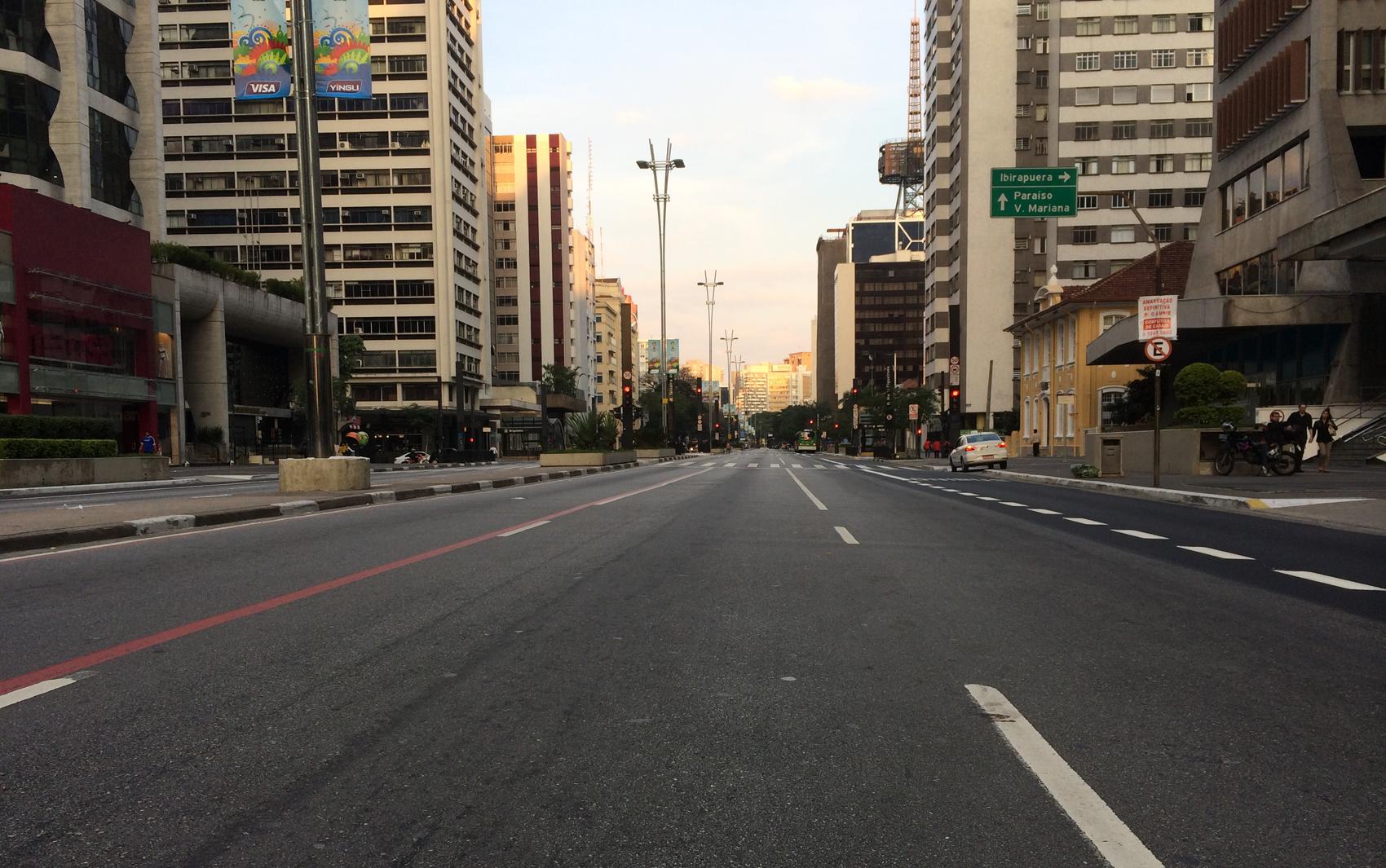 16h59 - Avenida Paulista
