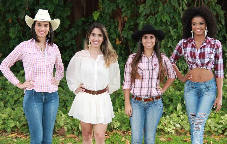 Candidatas ao Musa da Pecuária de Rio Verde