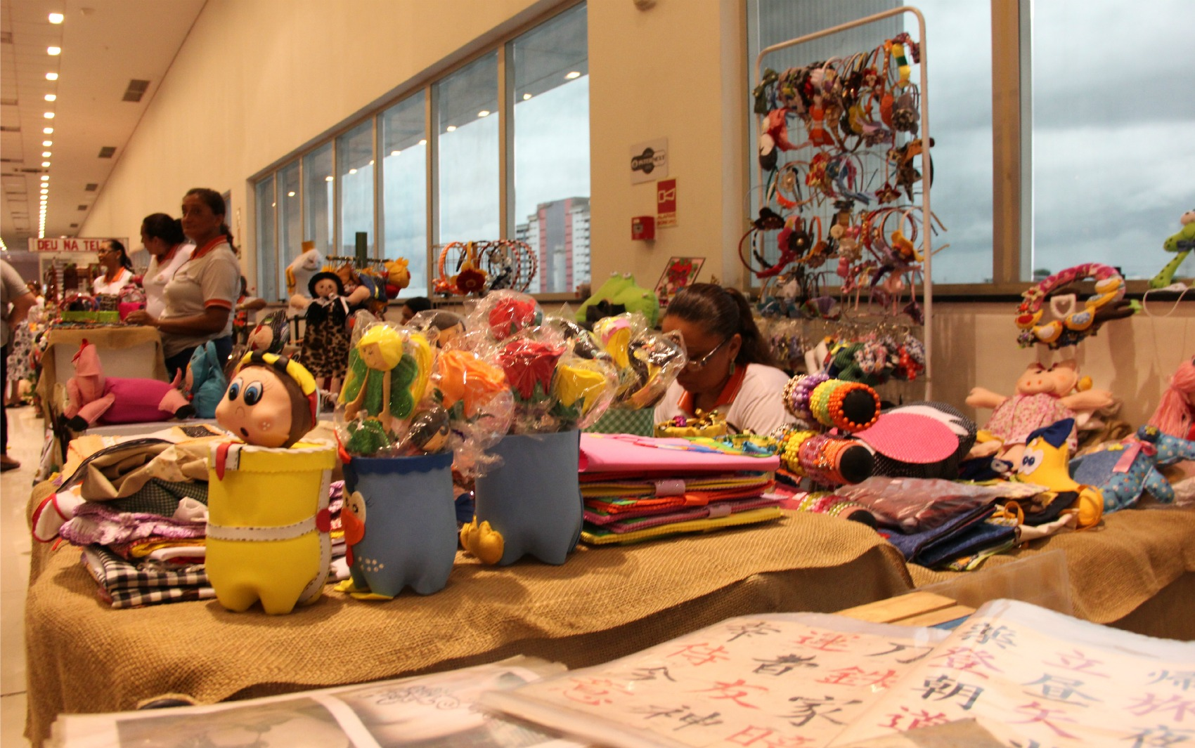 Artesanato Na Tv Rede Vida ~ FOTOS 2 u00aa Mundial Art reúne 15 mil itens de artesanato no AM fotos em Amazonas g1