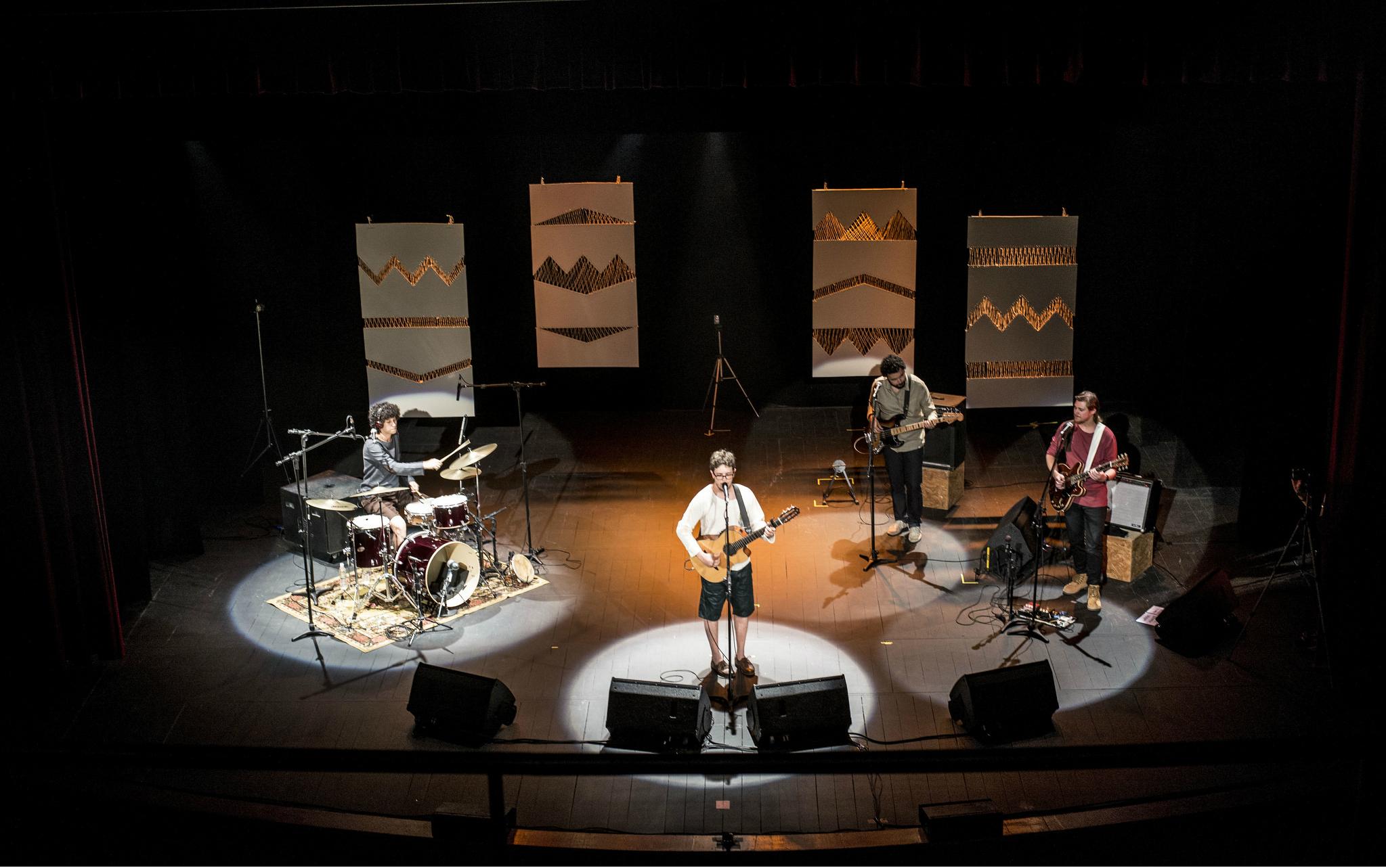 Show aconteceu no Teatro Universitário da Ufes