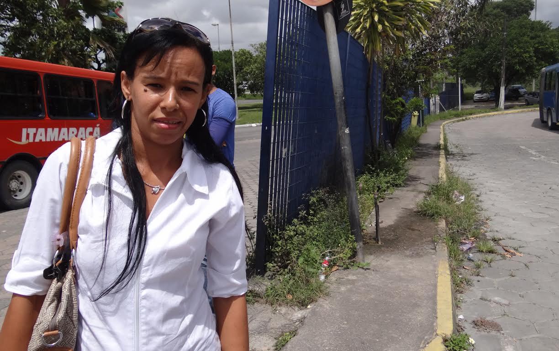 Nidia de Paula ja perdeu duas faxinas por causa da paralisação