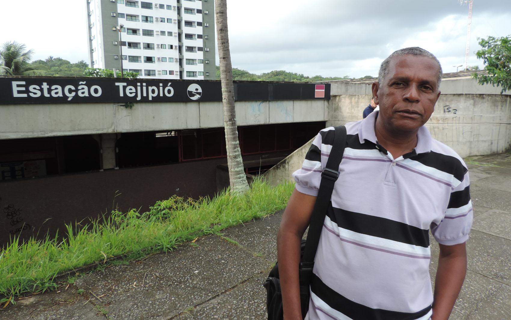 Assistente técnico Edimir Batista reclama porque teve que pagar mais