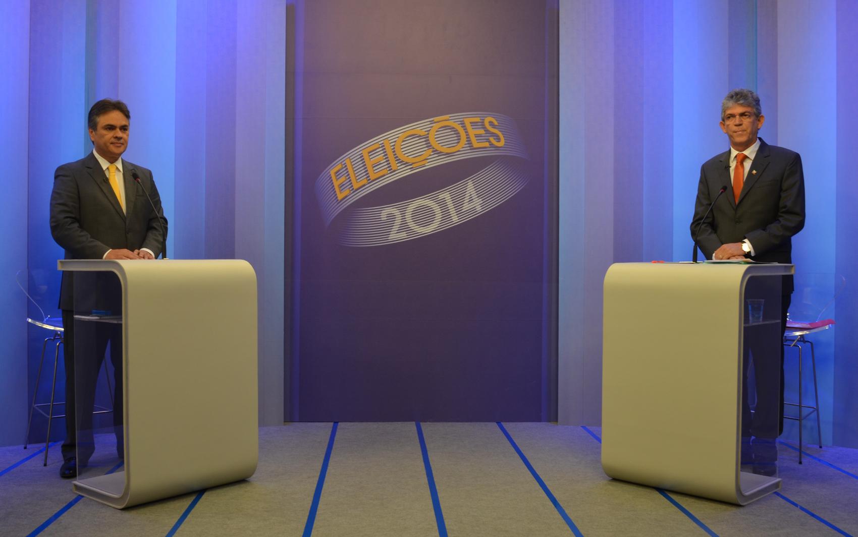 Candidatos ao governo da Paraíba já se encontram no estúdio da TV Cabo Branco para o debate