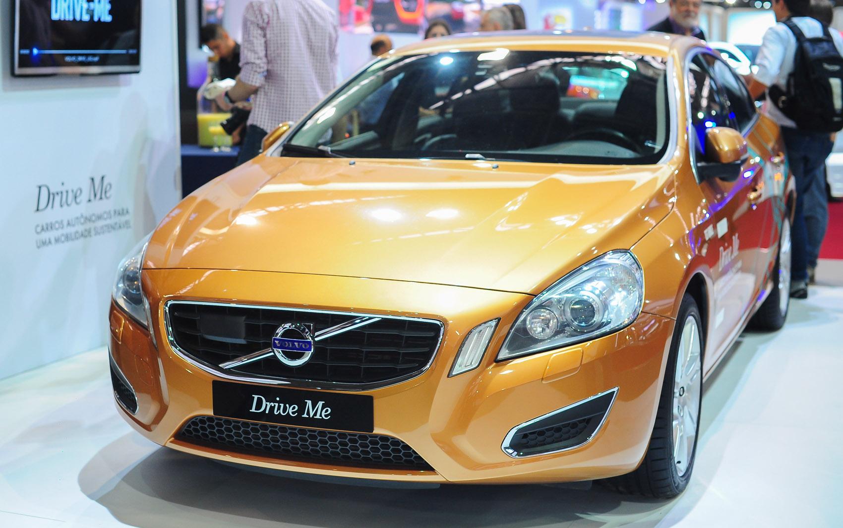Projeto 'Drive Me' de carro com direção autônoma é apresentado pela Volvo em seu estande Salão de São Paulo 2014