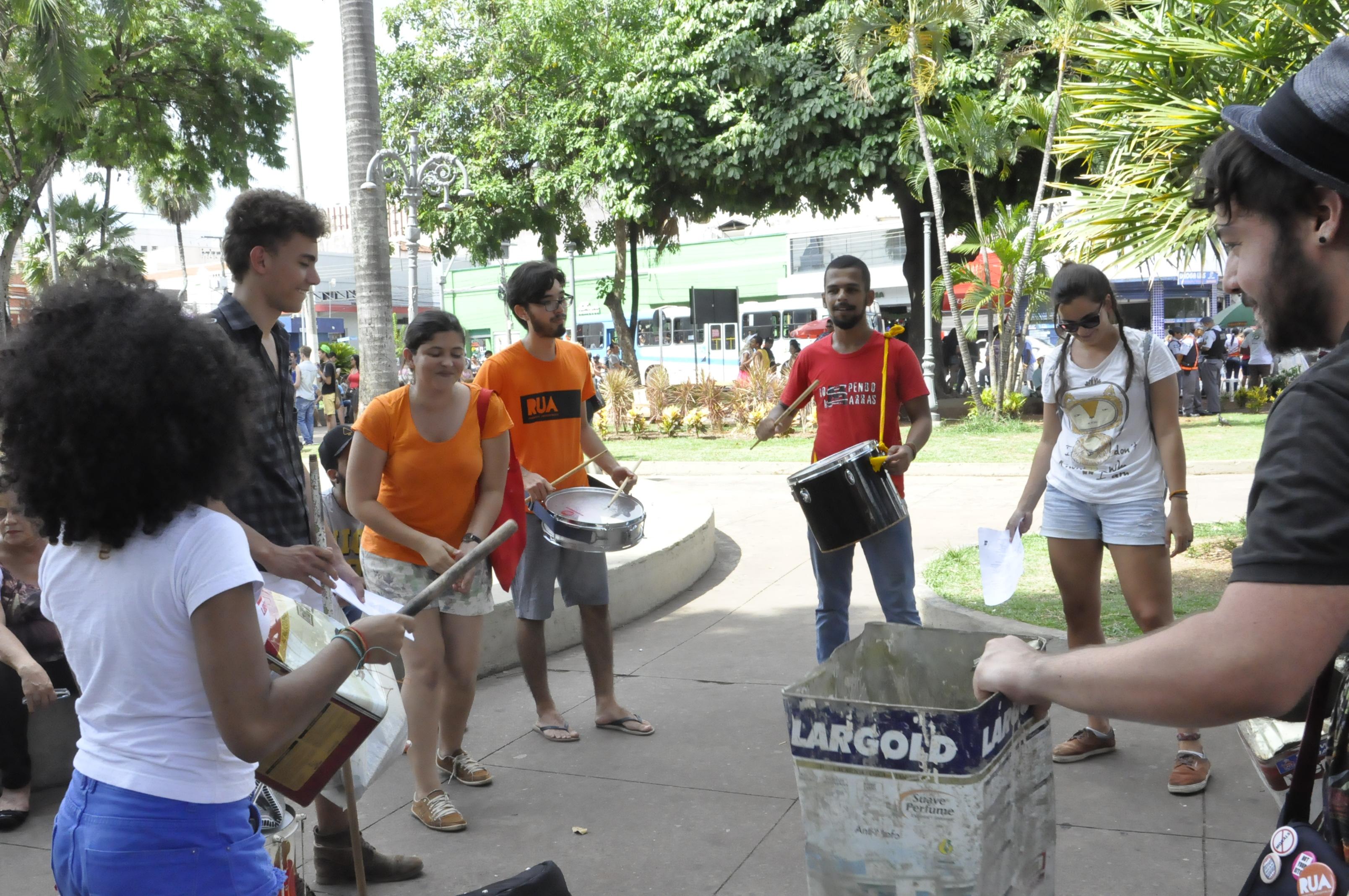 Parada da Diversidade Sexual em Cuiabá (MT).