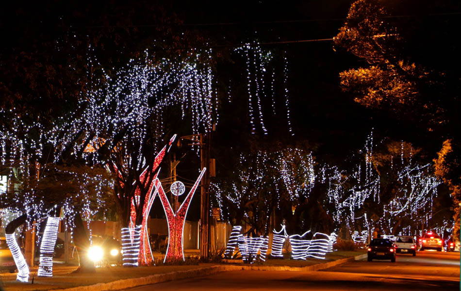 Decoração de Natal encantou os potiguares