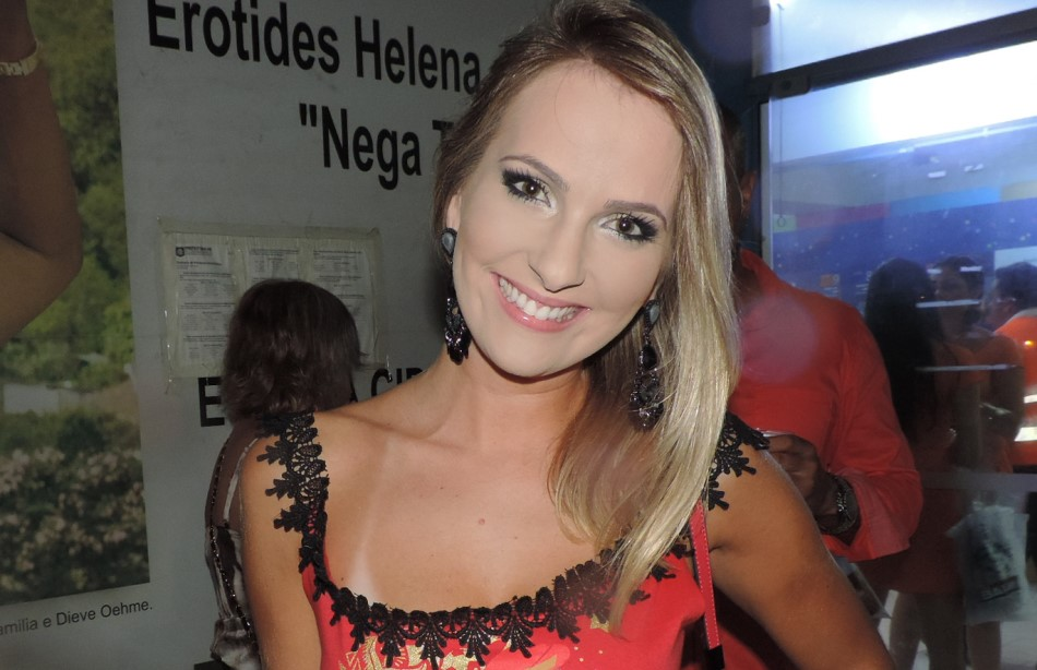 Ana Clara curtiu o Carnaval de Florianópolis
