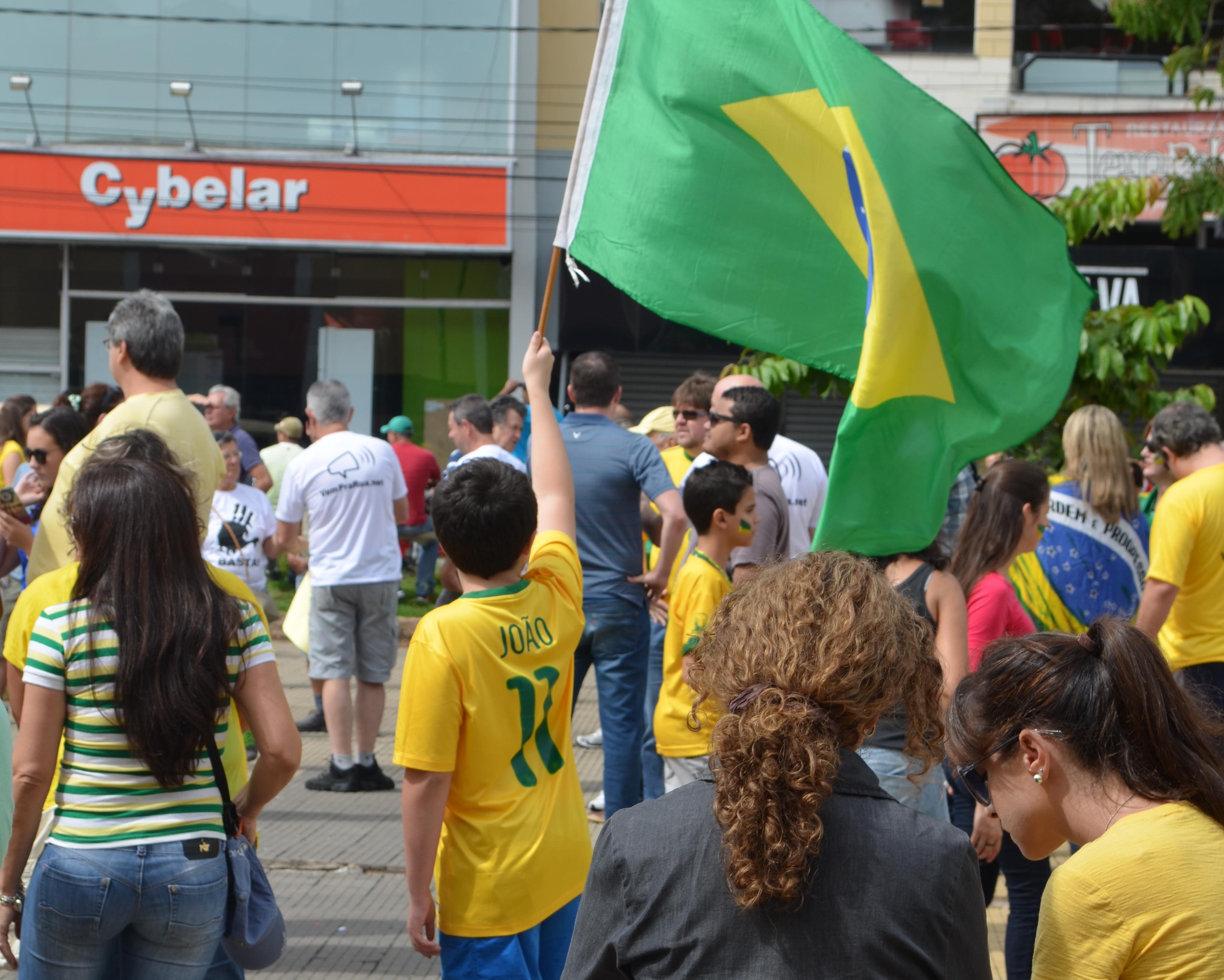 Manifestação em São Carlos
