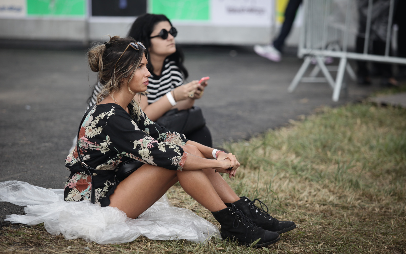 DOMINGO (29) - Público durante o festival Lollapalooza, em São Paulo