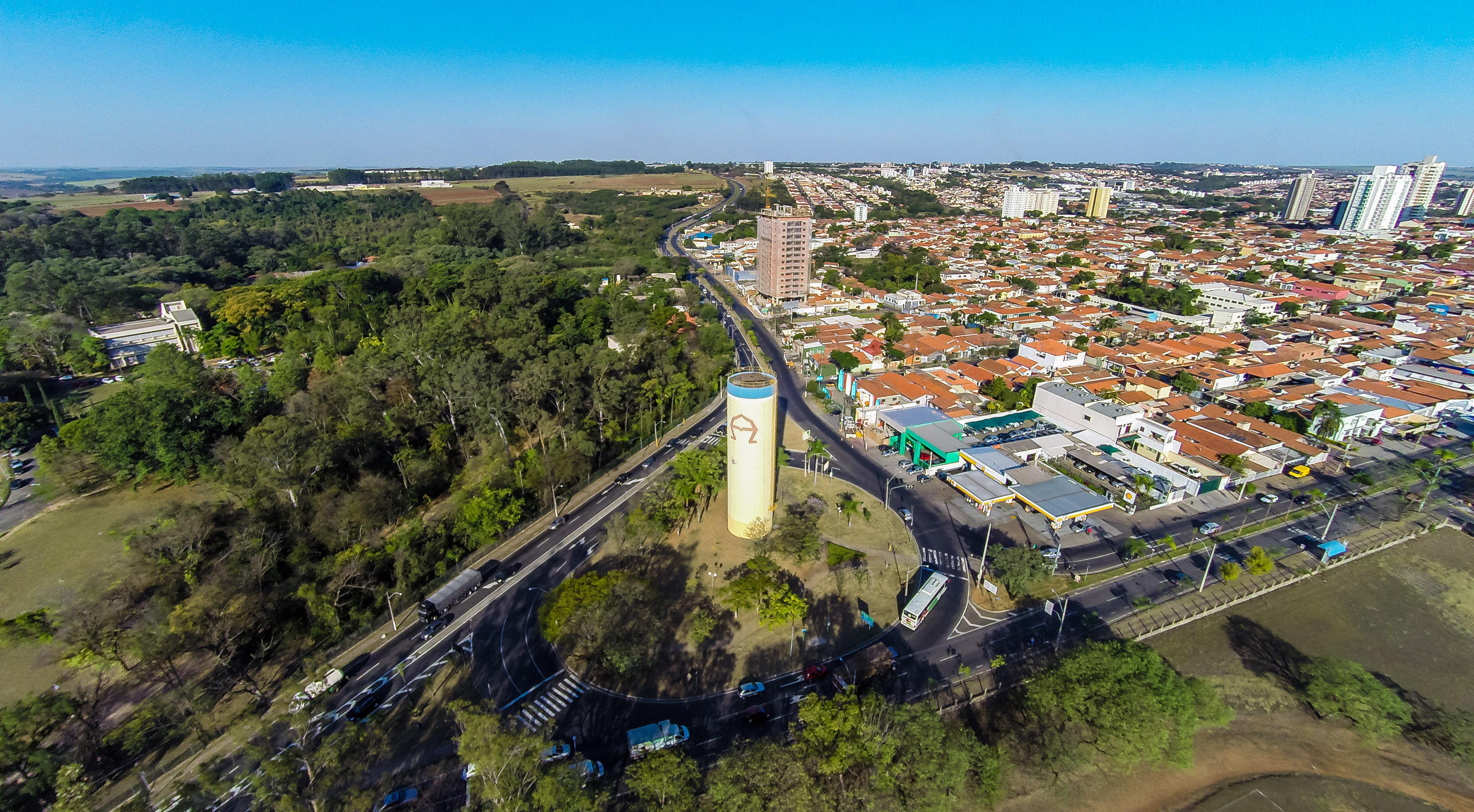 Entrada da Esalq, campus da USP em Piracicaba