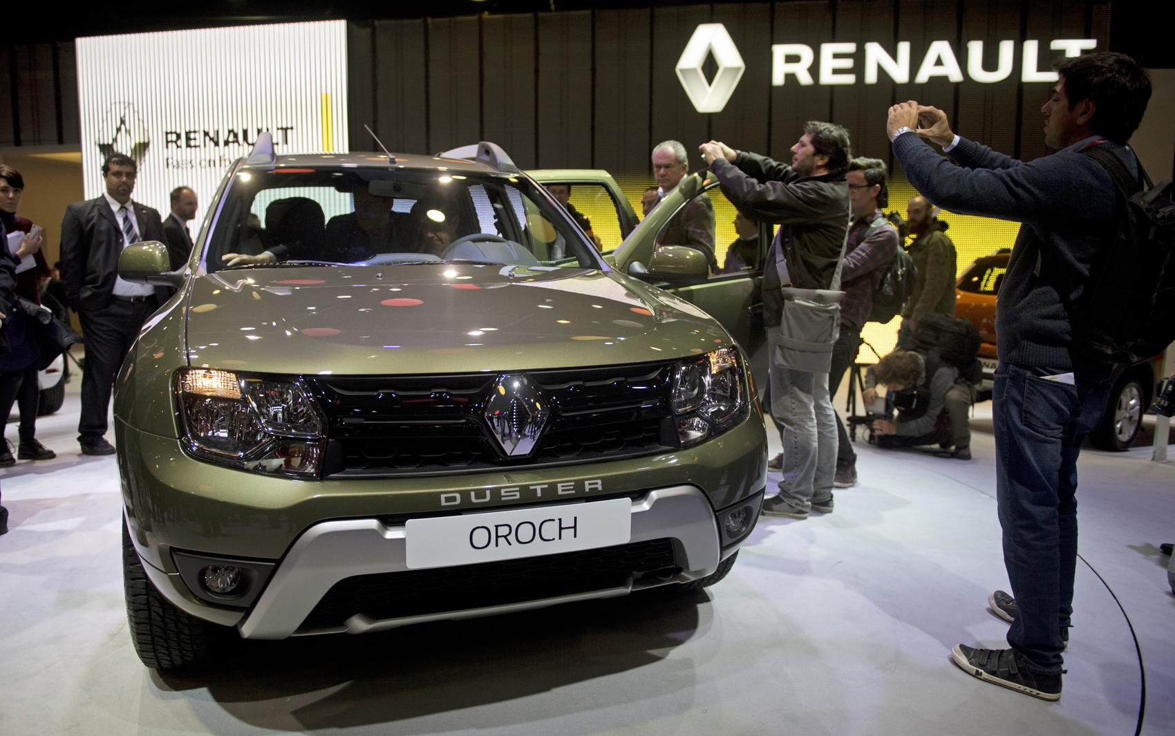 Renault Duster Oroch tem estreia mundial em B Eitan Abramovich / AFP