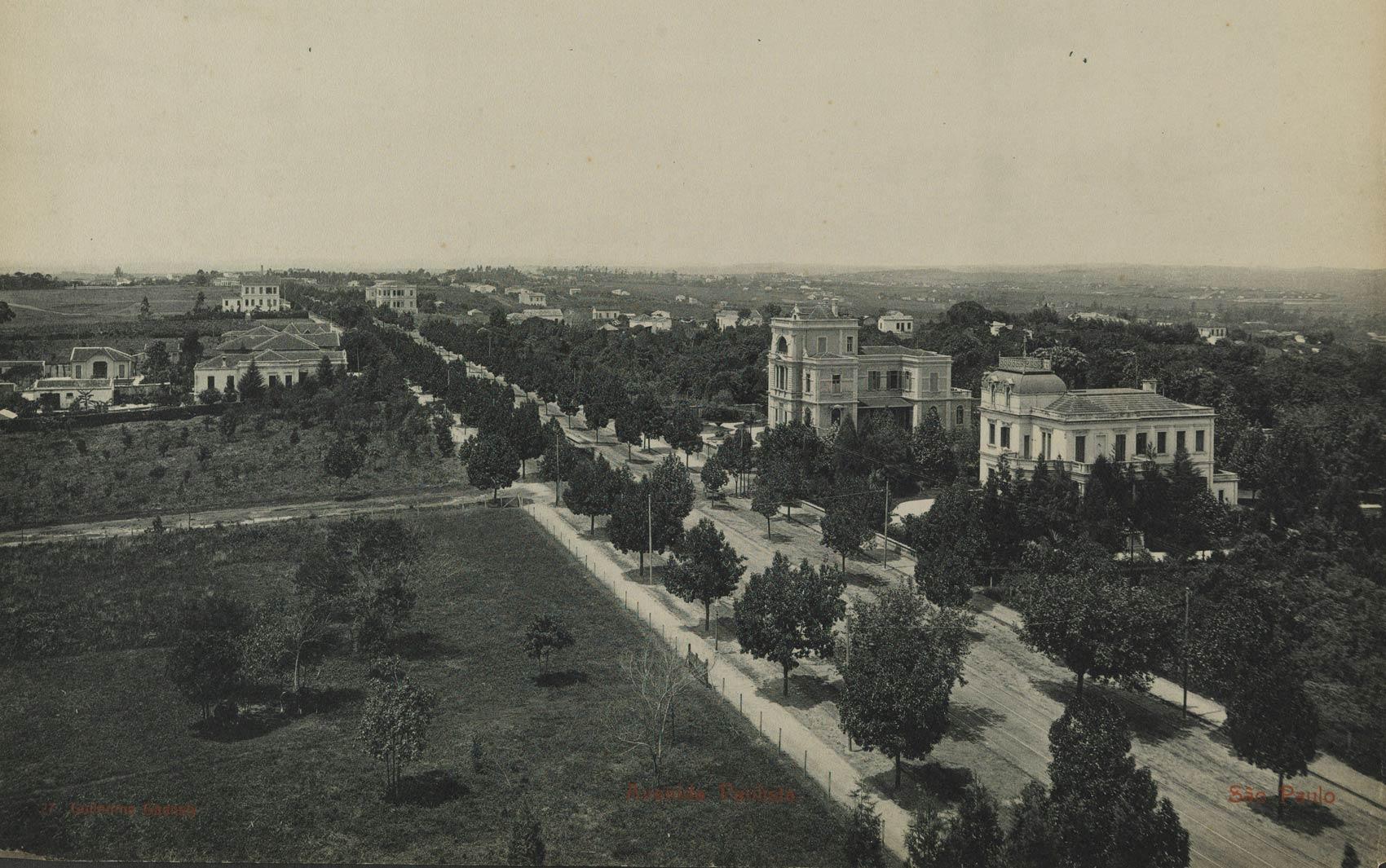 Avenida Paulista, São Paulo, em 1902
