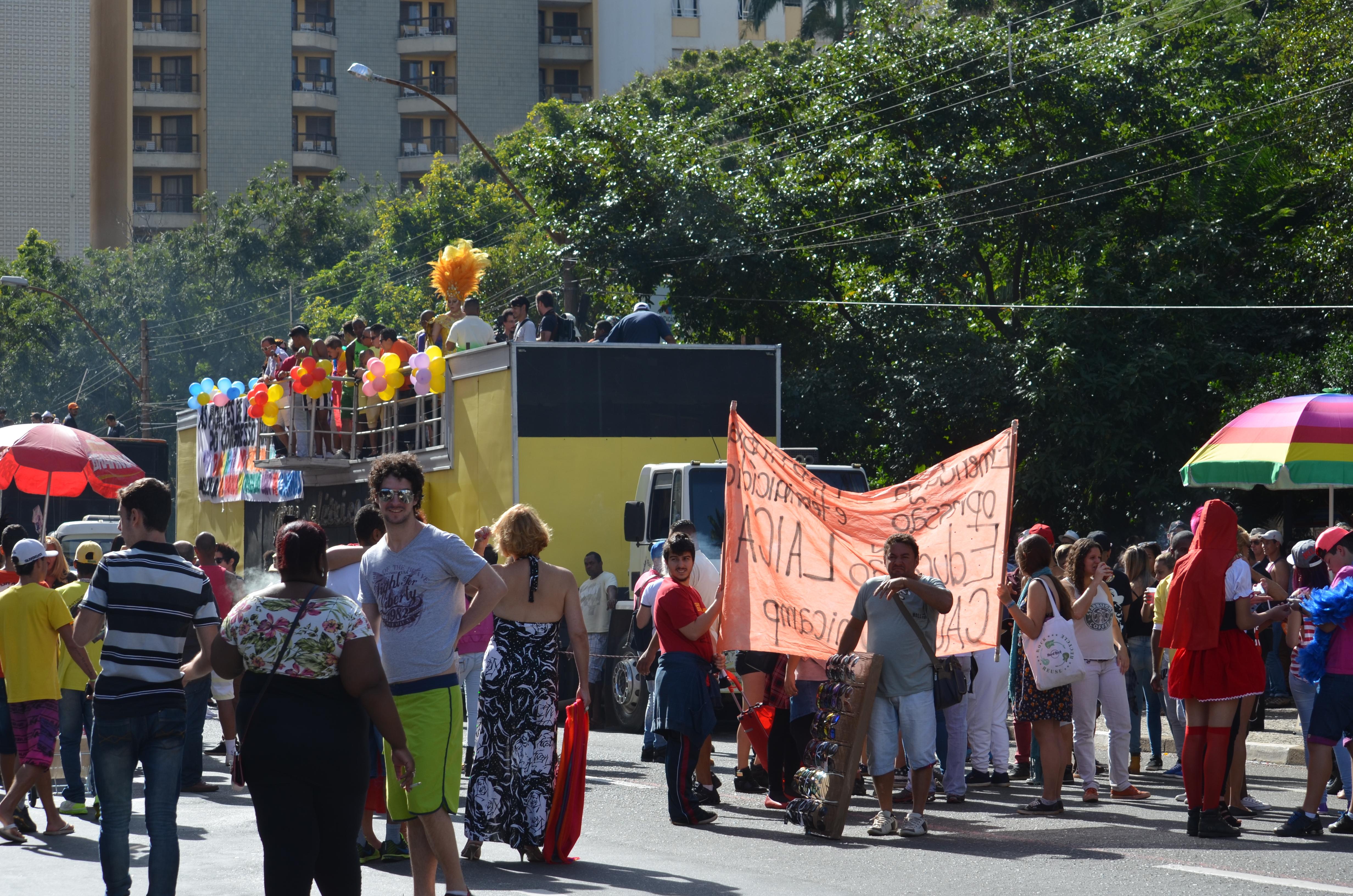 15ª edição da Parada do Orgulho LGBT em Campinas (SP)