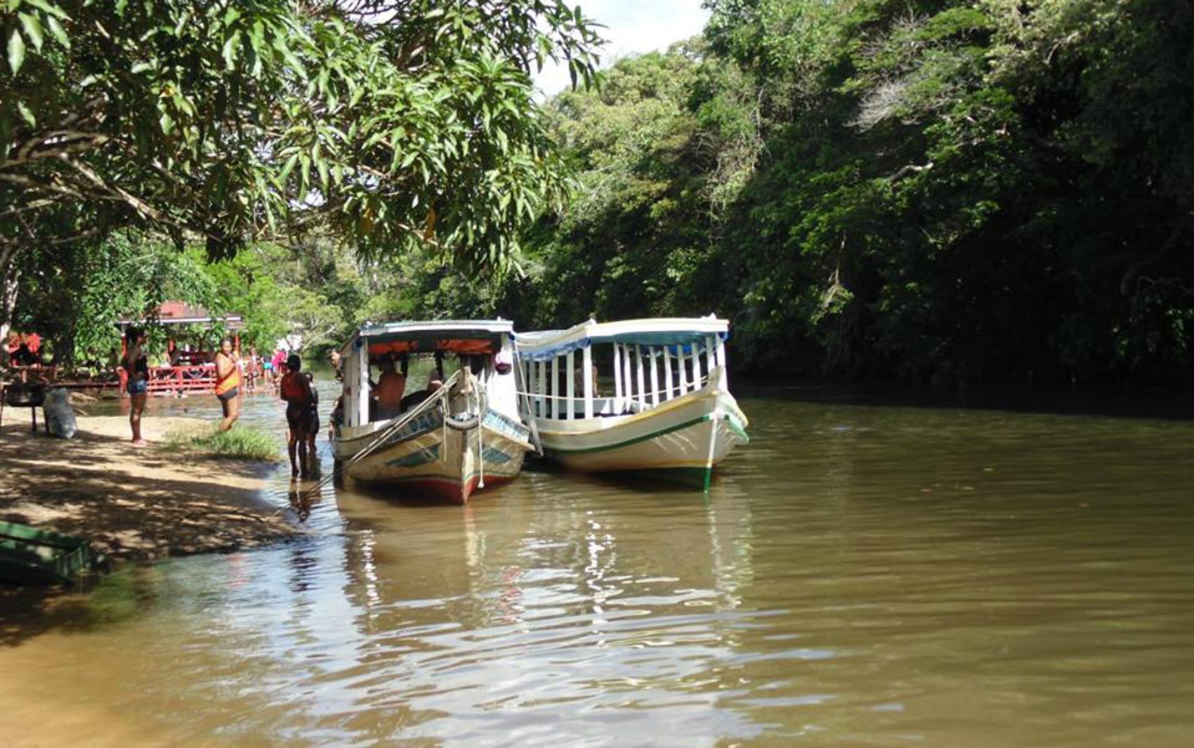 Distrito de Maruanum, em Macapá, onde ocorre a Festa da Santíssima Trindade