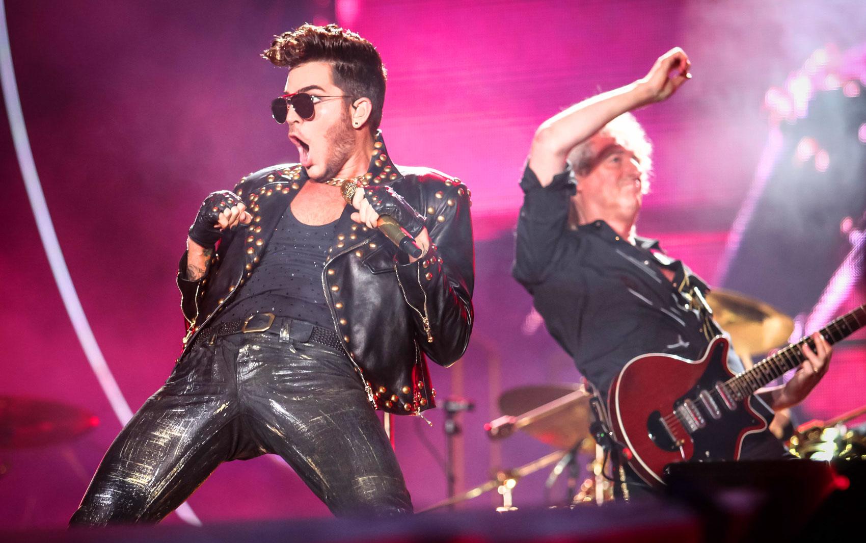 Adam Lambert e Queen no Rock in Rio 2015