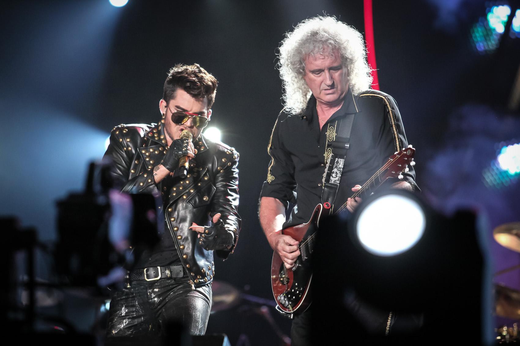Com Adam Lambert, Queen toca no Rock in Rio 2015