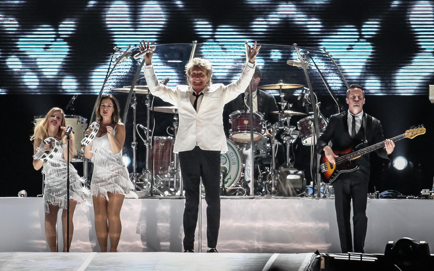 Rod Stewart toca no Palco Mundo neste domingo (21), terceiro dia de Rock in Rio