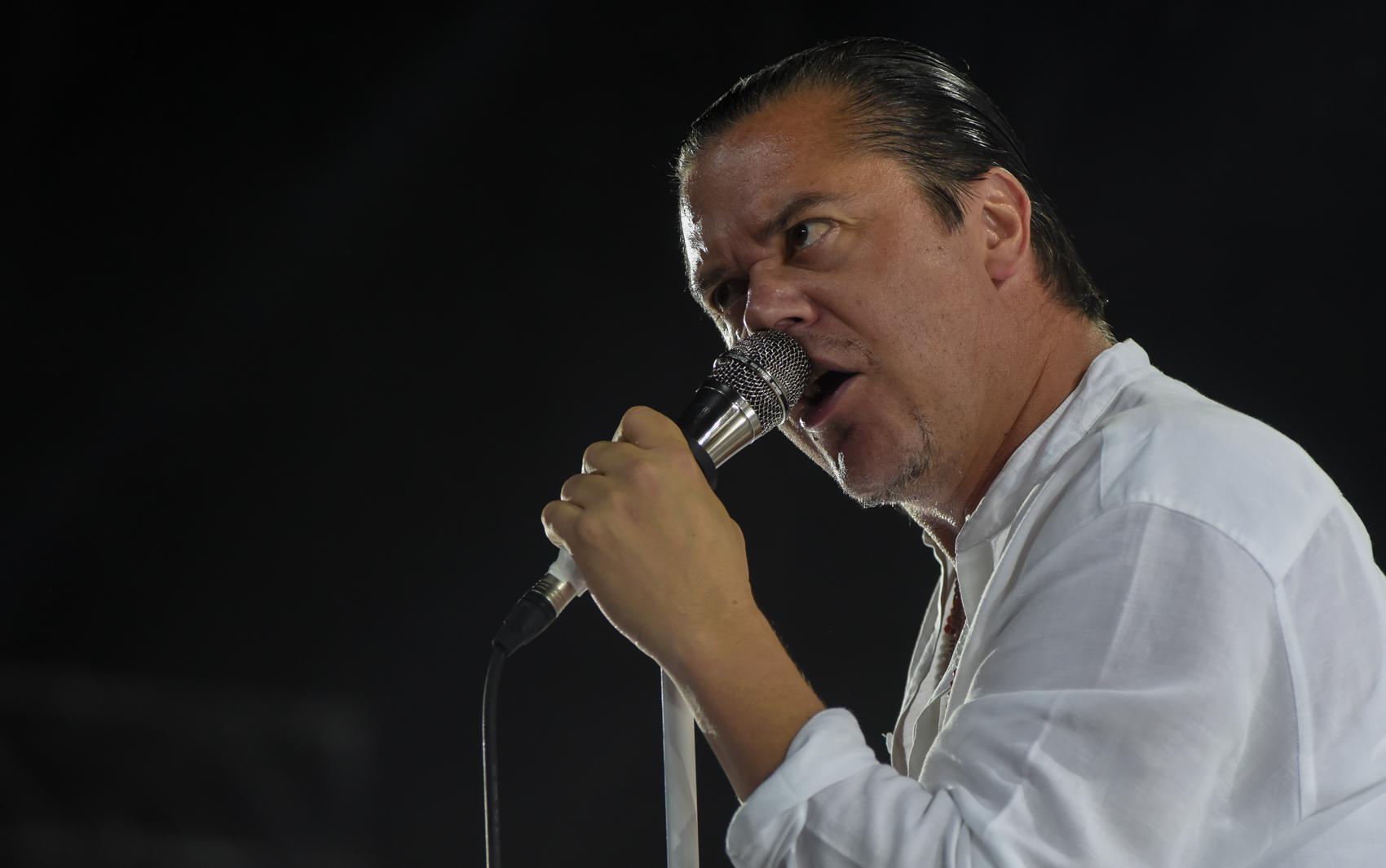 Faith No More toca no Espaço das Américas, em SP, nesta quinta (24). O grupo é atração de sexta no Rock in Rio