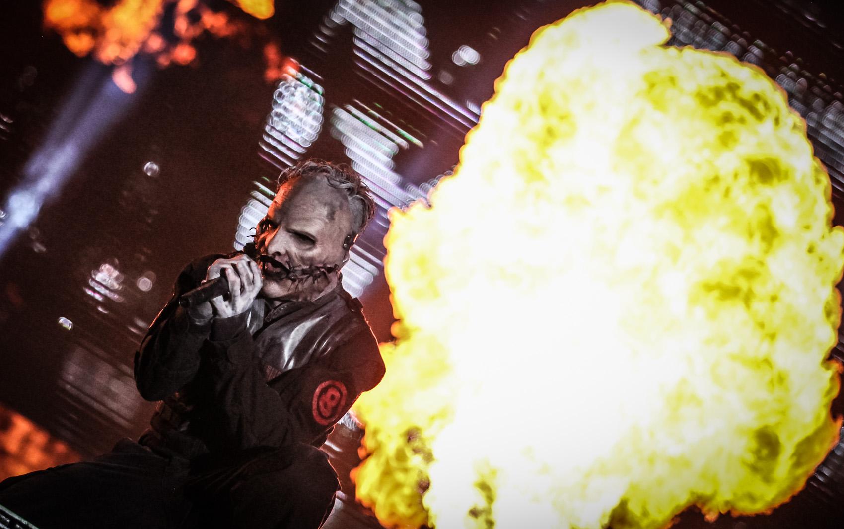 Slipknot é a principal atração do Palco Mundo nesta sexta (25), 5º dia do Rock in Rio
