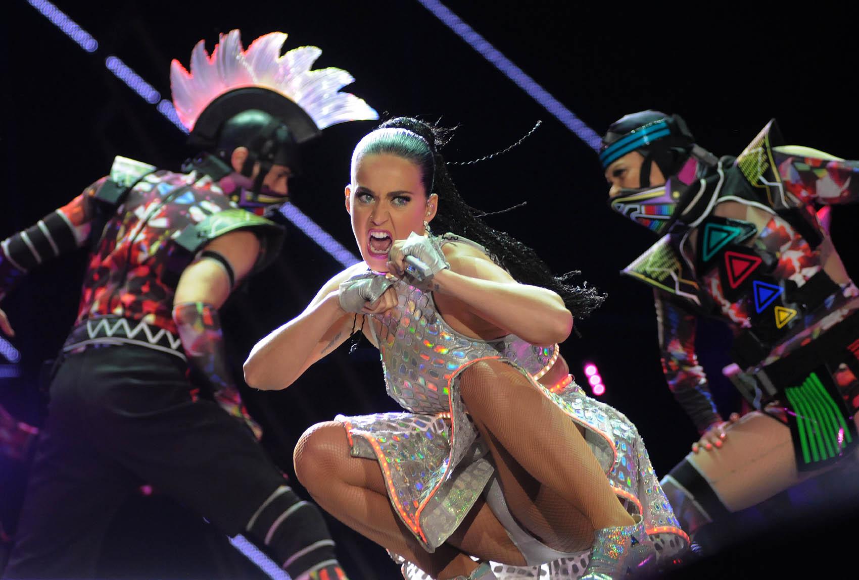 Katy Perry toca no Palco Mundo no último dia do Rock in Rio