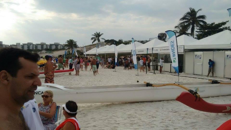 Campeonato reuniu dezenas de atletas em Cabo Frio, no interior do Rio