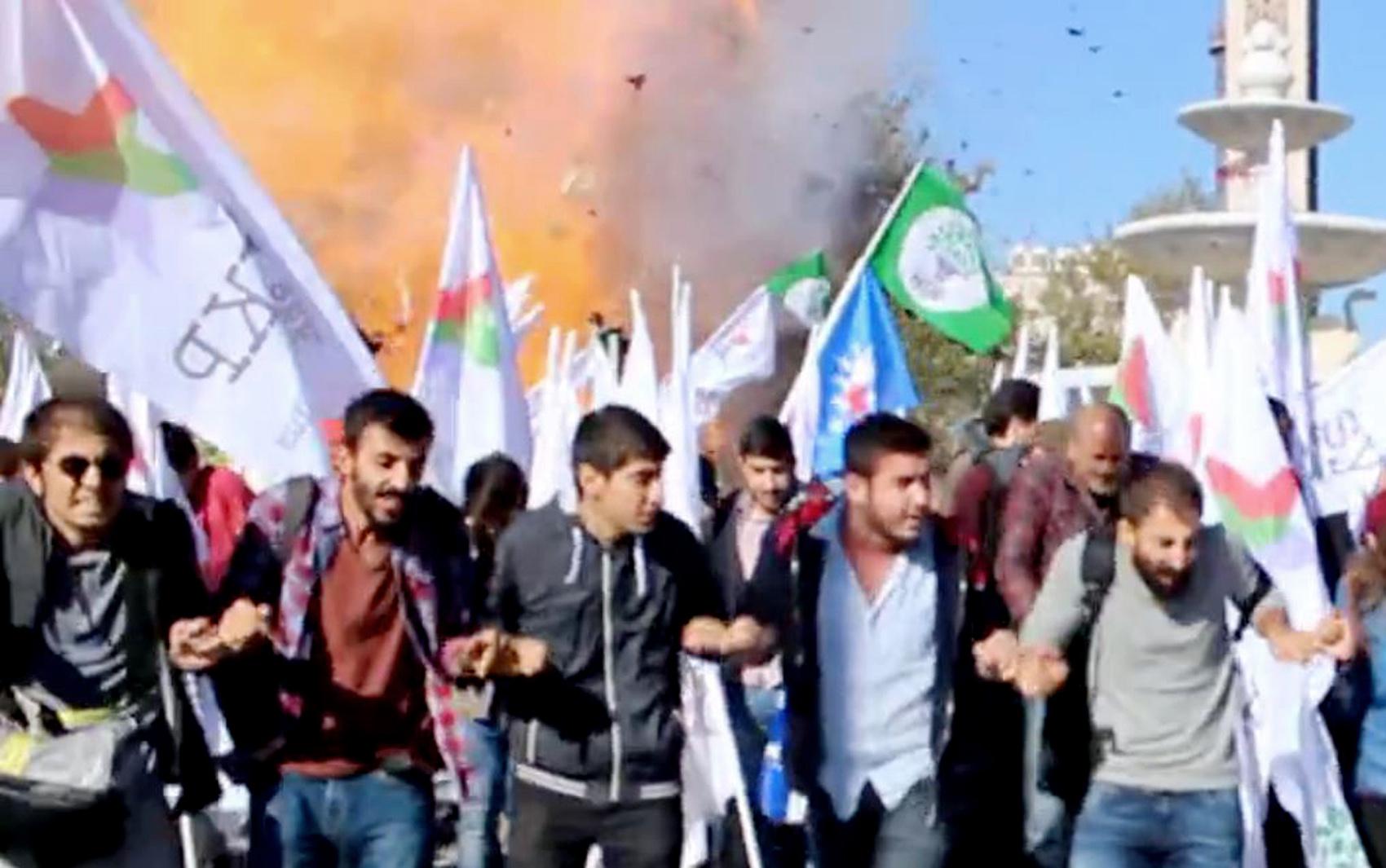 Imagem tirada de um vídeo feito pela fonte local