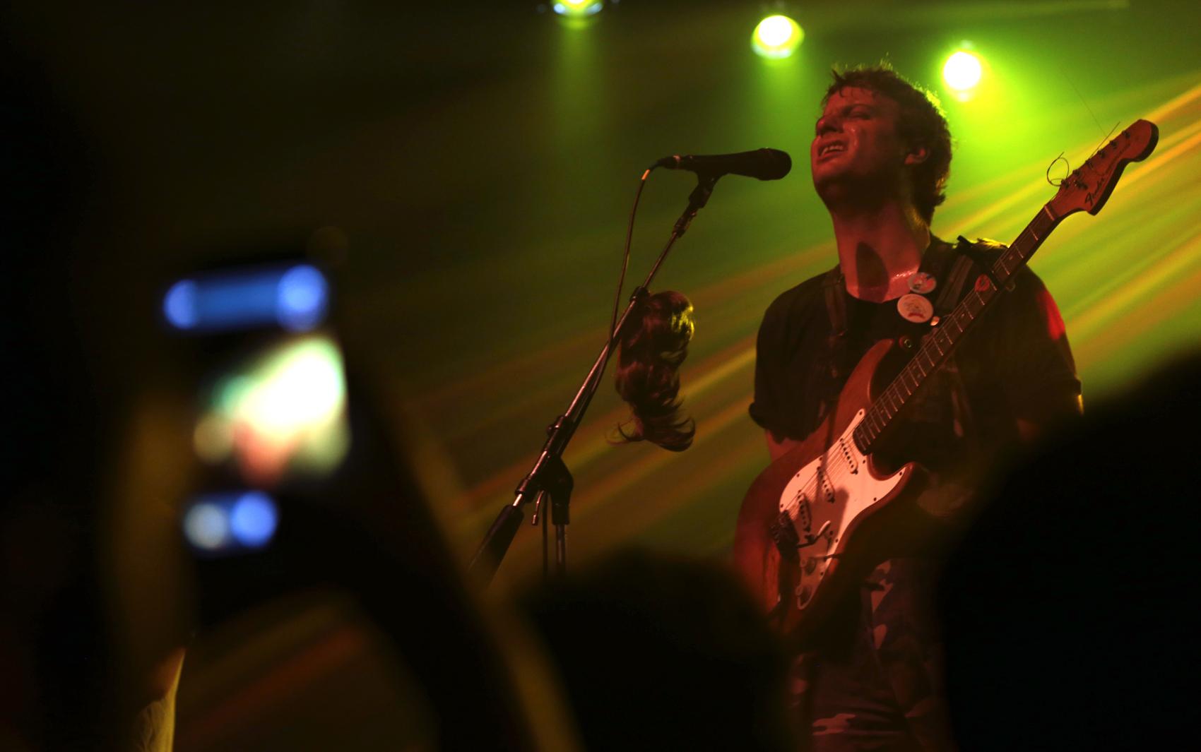 Mac DeMarco se apresentou no Audio Club, em São Paulo, no sábado (21)