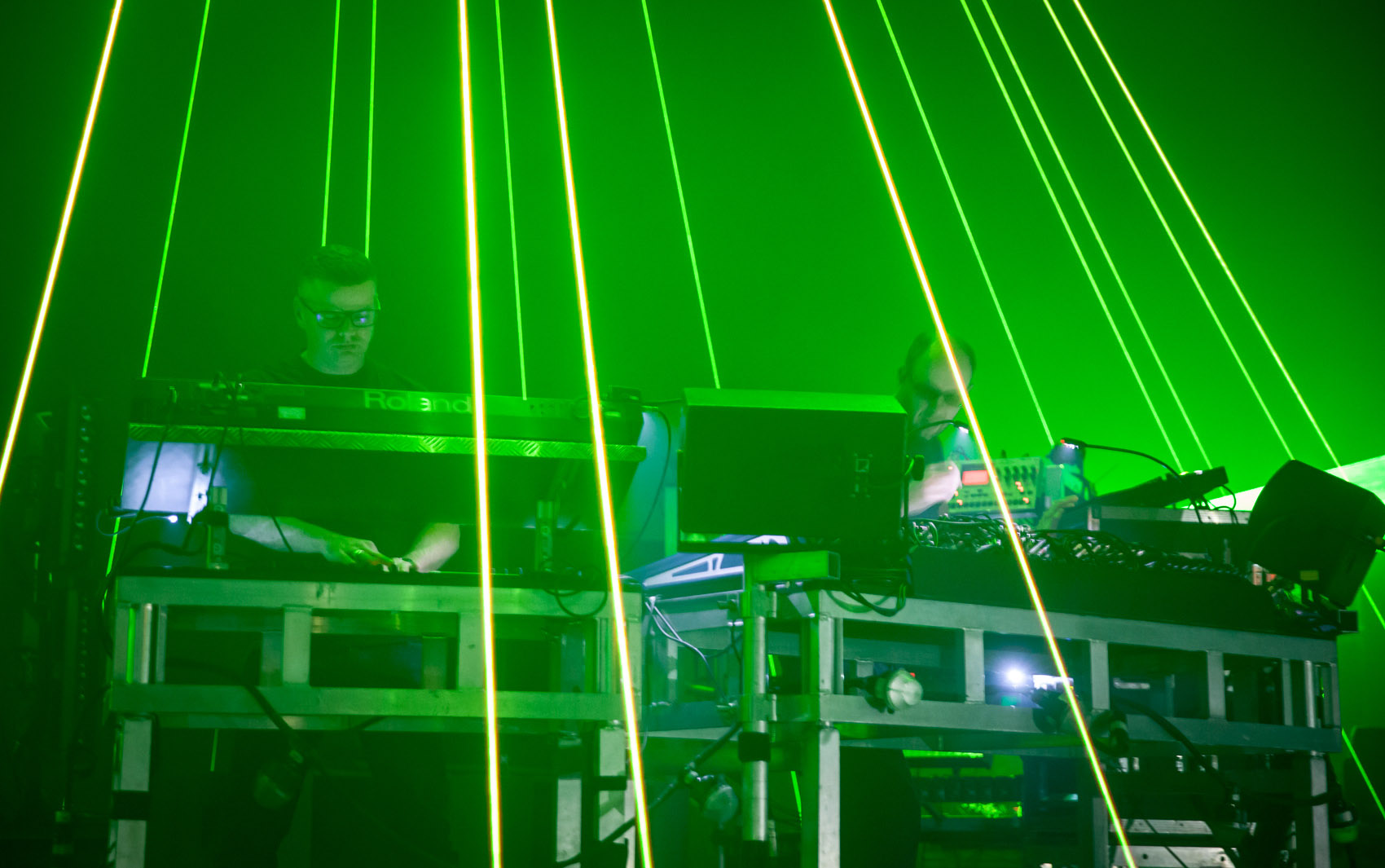 Chemical Brothers durante show no Sónar