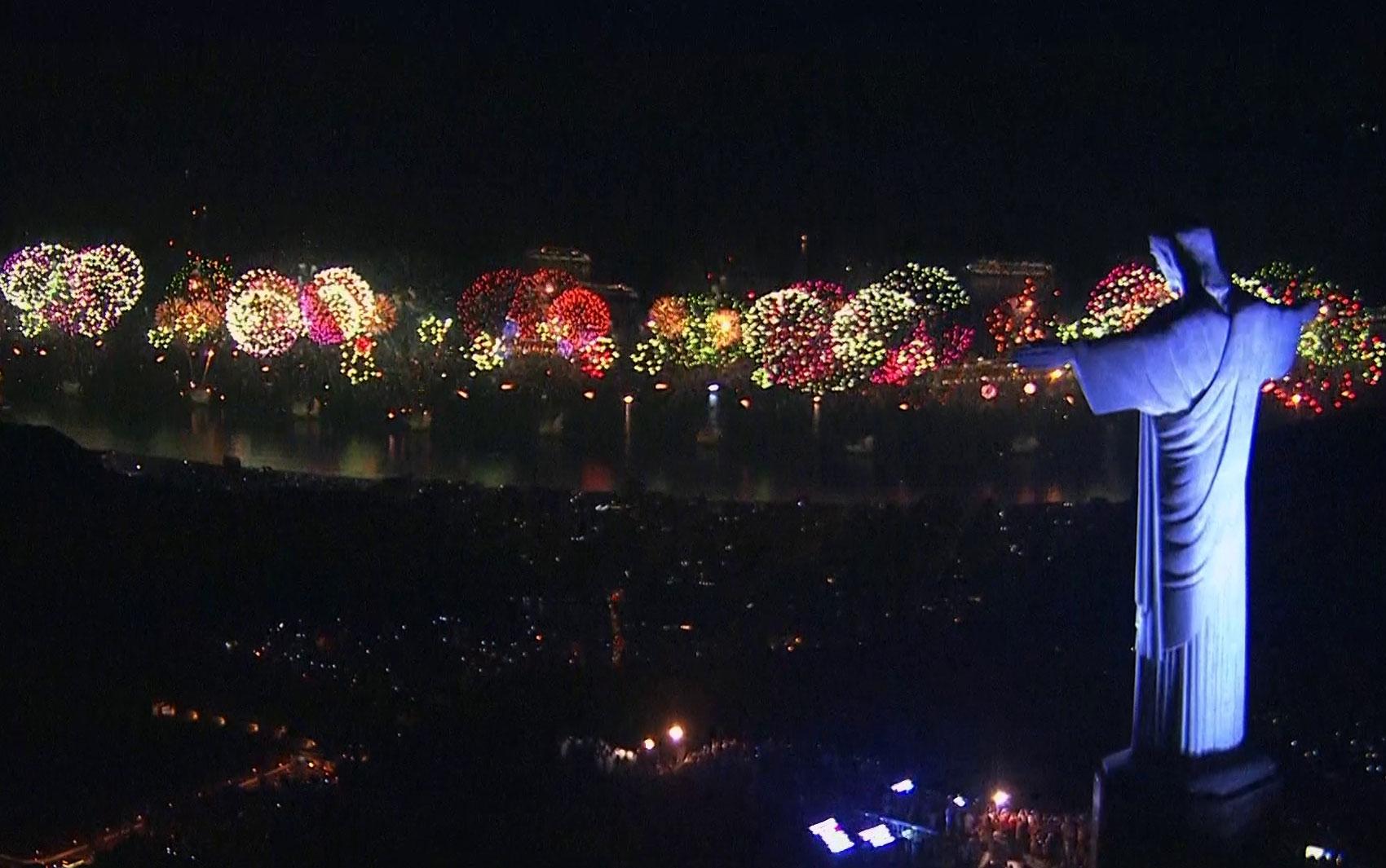 Ano Novo no Rio de Janeiro - Foto: G1 - Ano Novo no Mundo