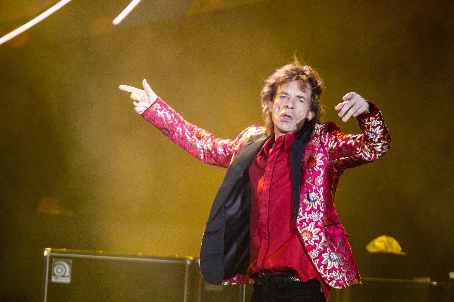 Rolling Stones se apresentam no Maracanã