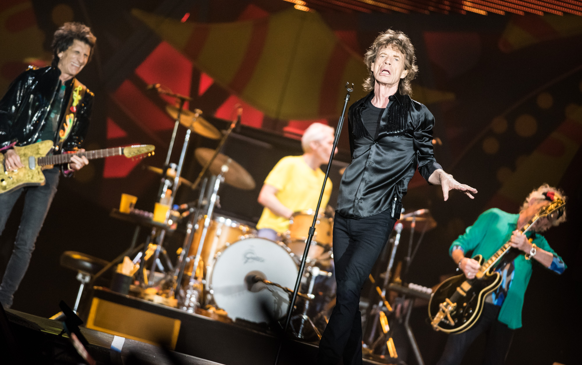 Segundo show dos Rolling Stones em São Paulo, no estádio do Morumbi