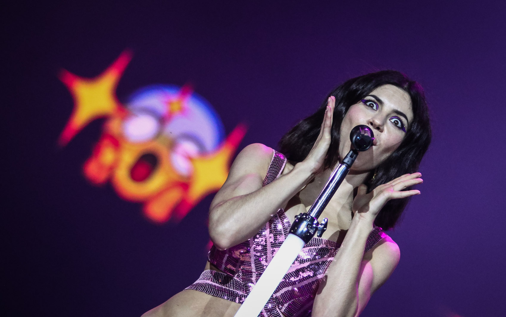 Marina and the Diamonds se apresenta no palco Axe do Lollapalooza 2016