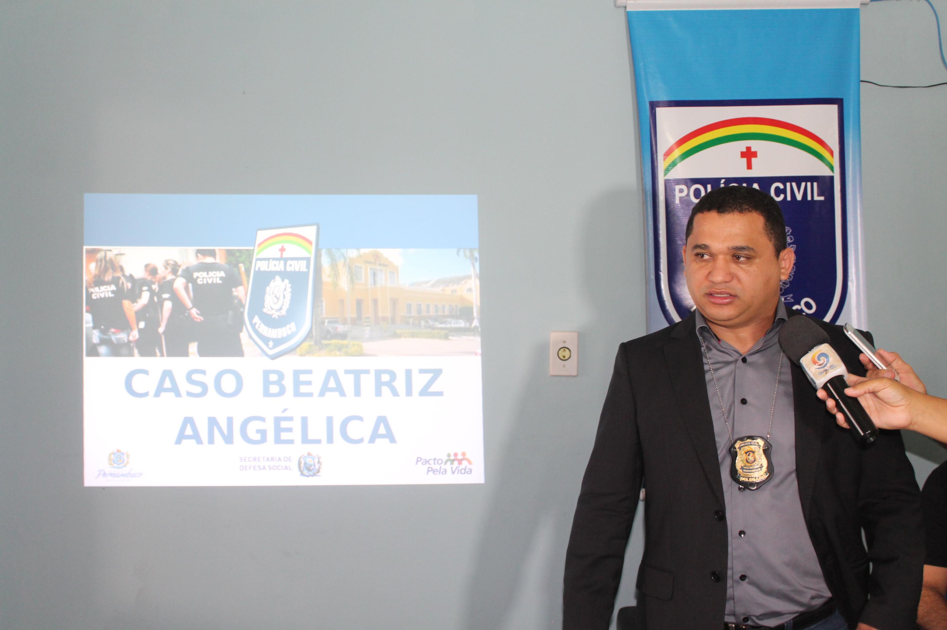 Delegado Marceone Ferreira apresenta novidades sobre o assassinato da menina Beatriz Mota