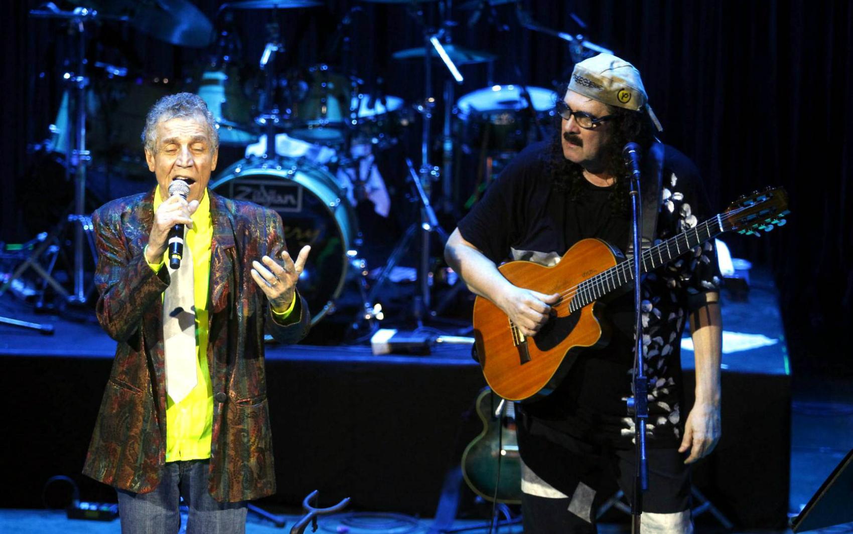 Luiz Galvão declamou a poesia 'Amar-te', depois cantada por Moraes