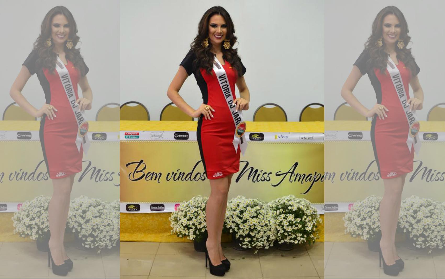 Taianny Motta, representante de Vitória do Jari, candidata ao Miss Amapá 2016