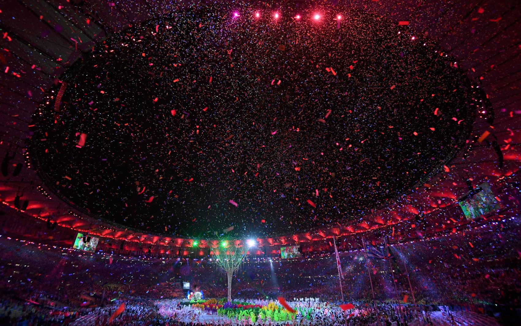 21/08 - Cerimônia de encerramento dos Jogos Olímpicos Rio 2016 no estádio do Maracanã