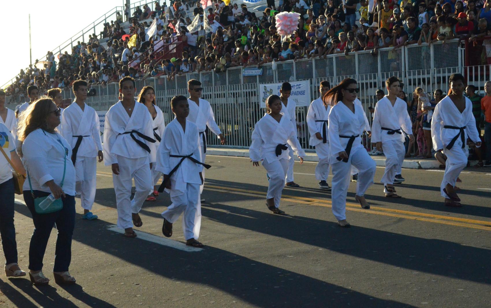 Desfile Cívico de 13 de setembro, data celebra criação do ex-Território Federal do Amapá