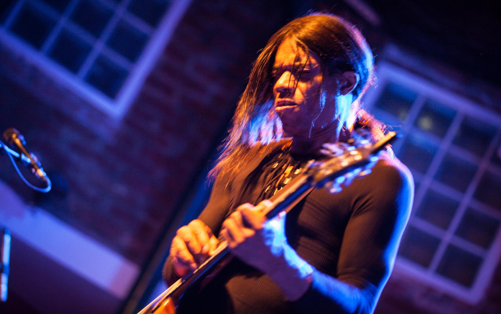 O guitarrista americano Stanley Jordan se apresenta no Bourbon Street, em Moema, Zona Sul de São Paulo