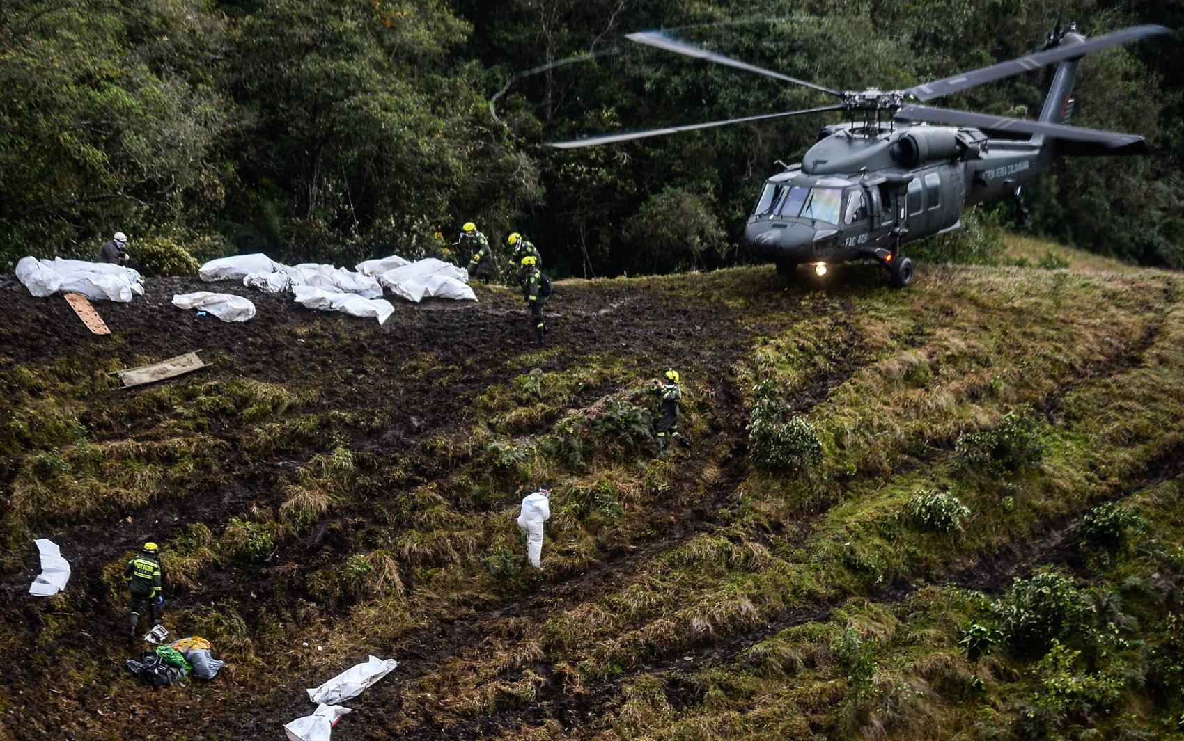 Capa Imagens do Acidente das Vitimas do Voo da Chapecoense Baixar