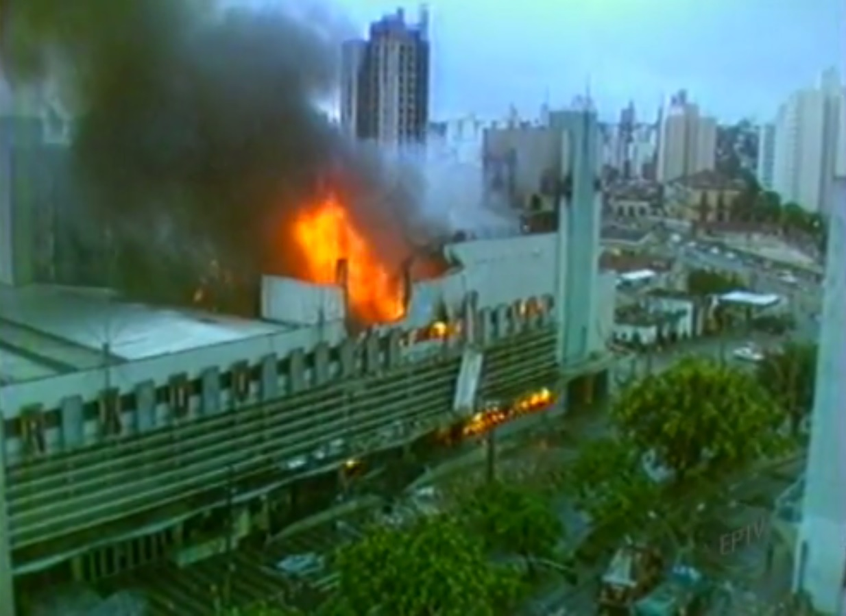 Fogo começou na madrugada do dia 24 de dezembro
