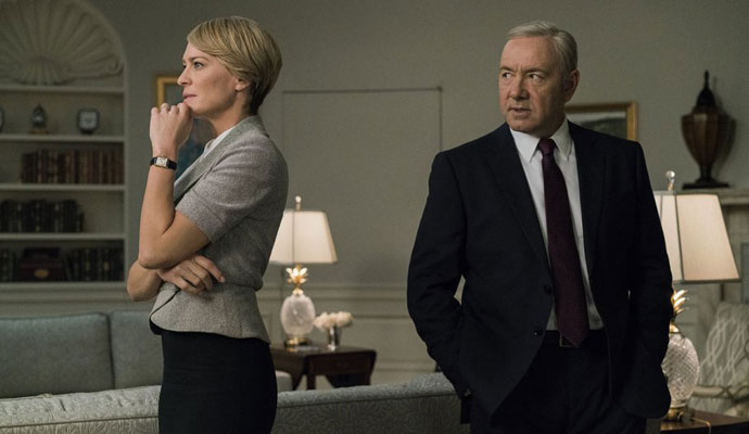 house of cards claire frank underwood - robin wright e kevin bacon - blog Legendado