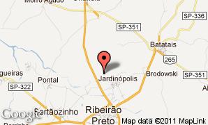 Mapa de Jardinópolis