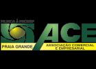 Logo Associação Comercial e Empresarial de Praia Grande