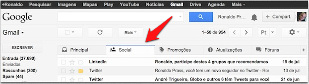 Abadas do Gmail